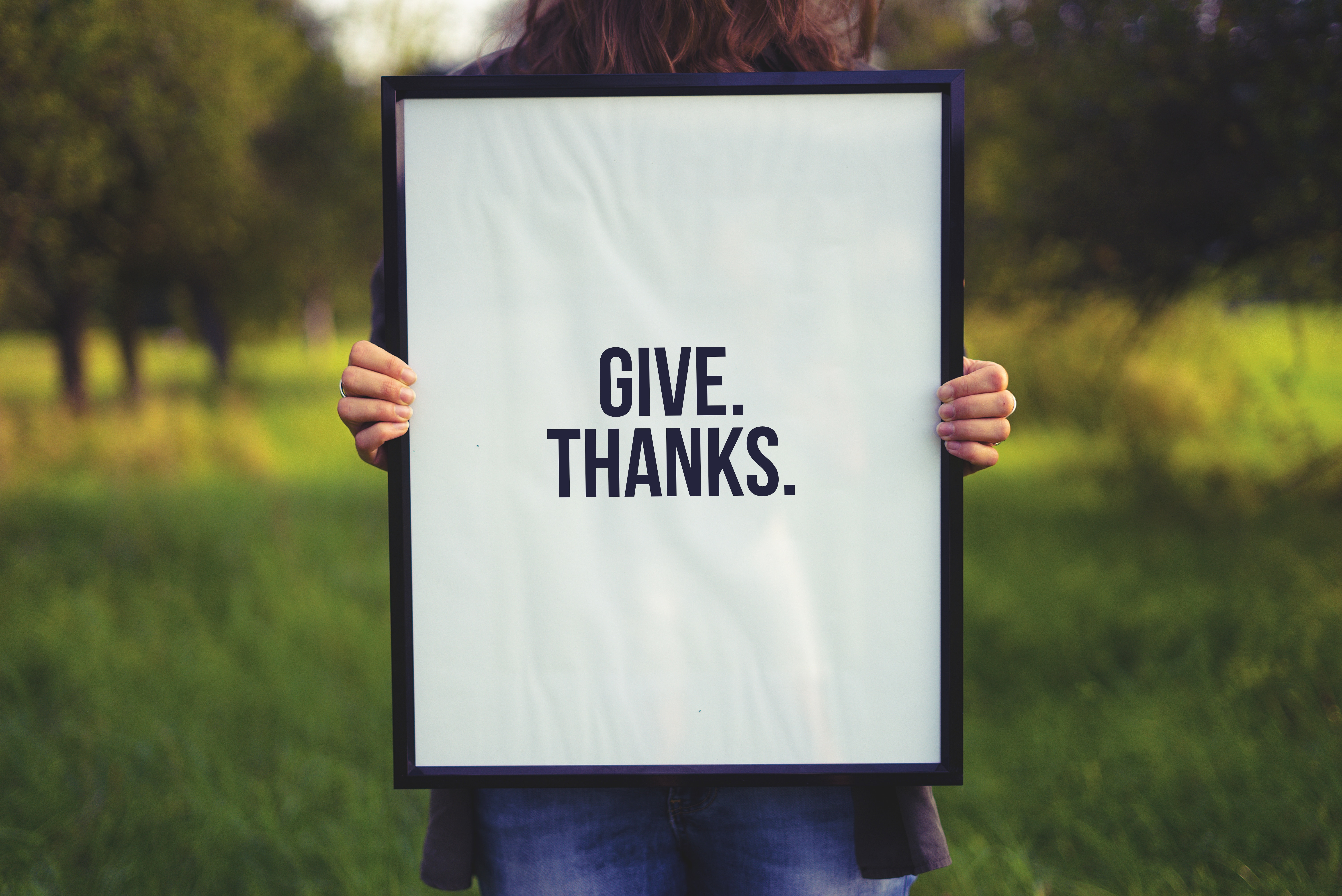 Give. Thanks