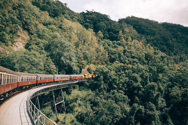 Kuranda Scenic Railway at Stoney Creek Falls