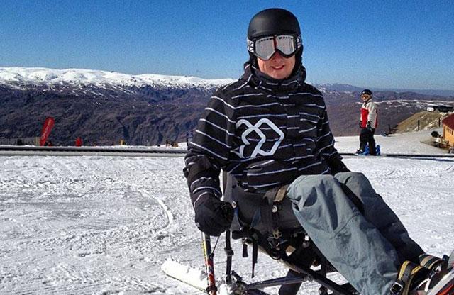 Adaptive winter sports
