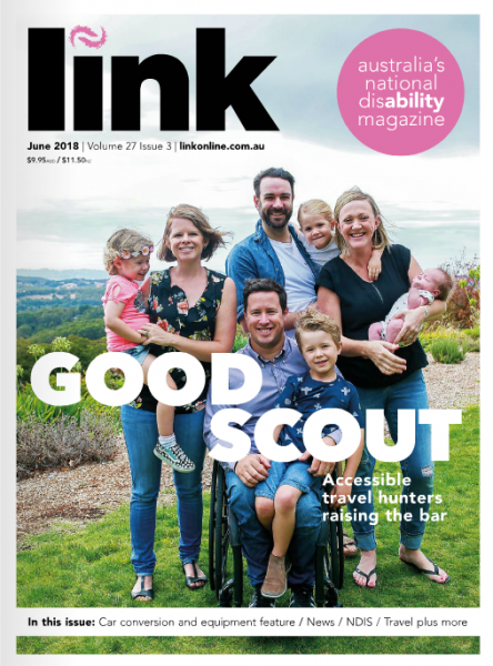 Link Magazine Cover