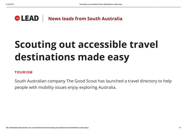 Scouting out accessible travel destinations made easy
