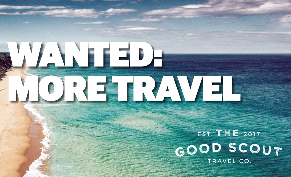 wanted:more travel