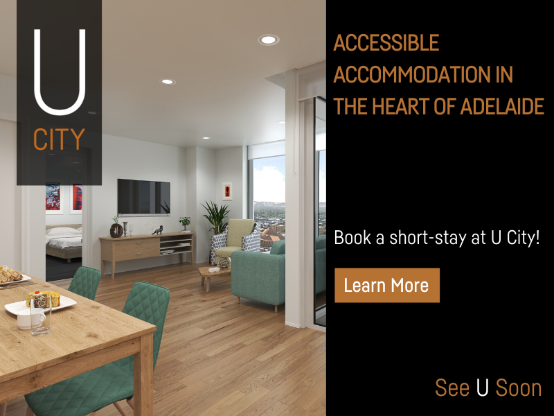 U City Accessible Serviced Apartments ad